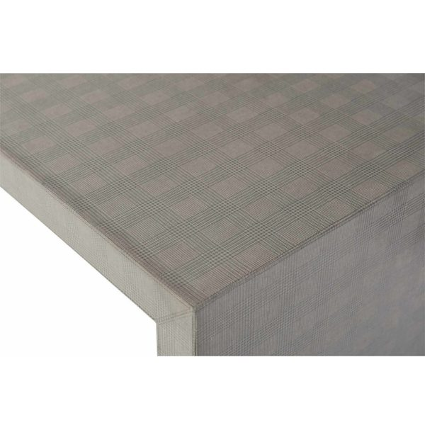 Exquisite Living Fabric Rectangle Coffee Table 2