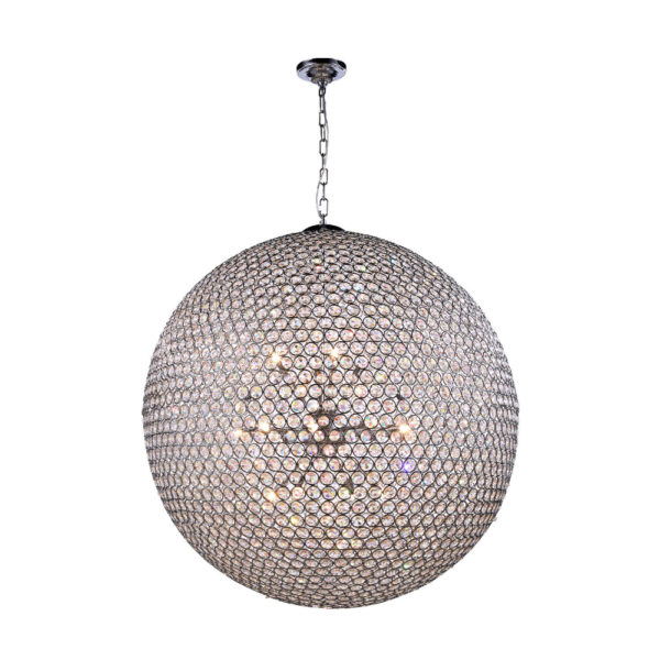 Crystal Moon Chandelier